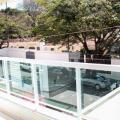 Sacada de vidro preço do metro