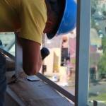 Fechamento de sacadas com vidro retrátil