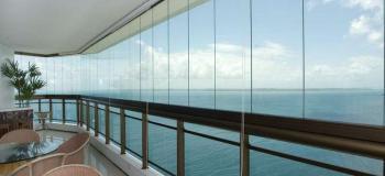 Cortina de vidro para varanda preço