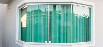 Janela de vidro temperado preço