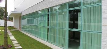 Porta de vidro sob medida